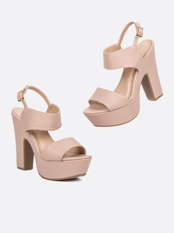 TIMONA, Todos los zapatos, Plataformas, Sandalias Plataformas, Sintético, NUD, Vista Galeria