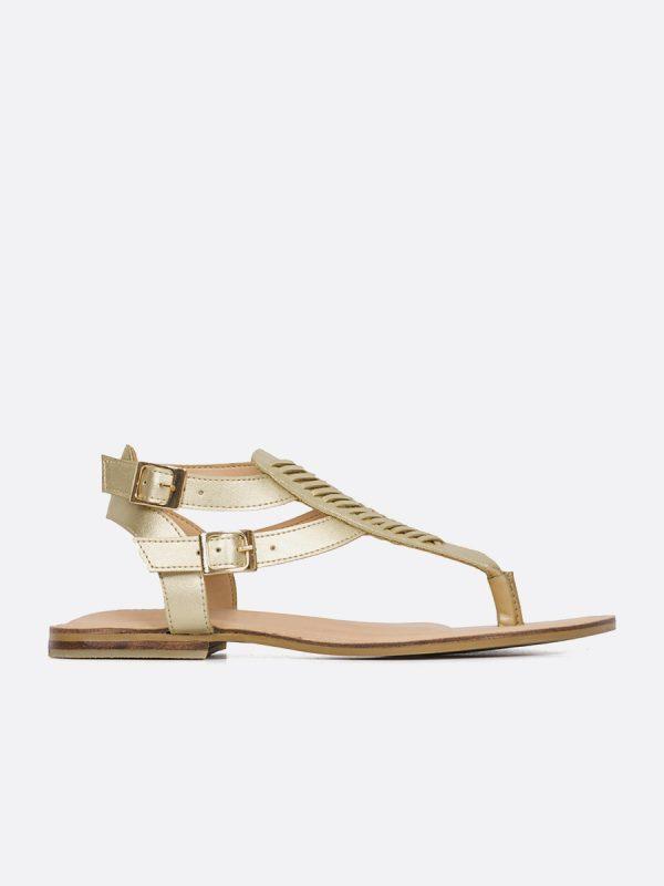 ATENA, Todos los zapatos, Sandalias Planas, Sintético, CHA, Vista Lateral