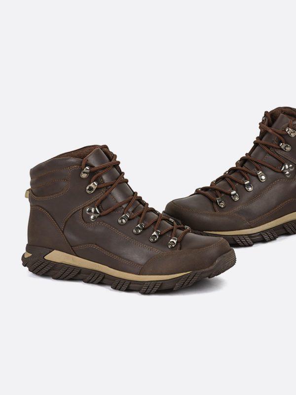 BIKER01,Todos los Zapatos, Botas Casuales, Cuero, CAF, Vista Galeria