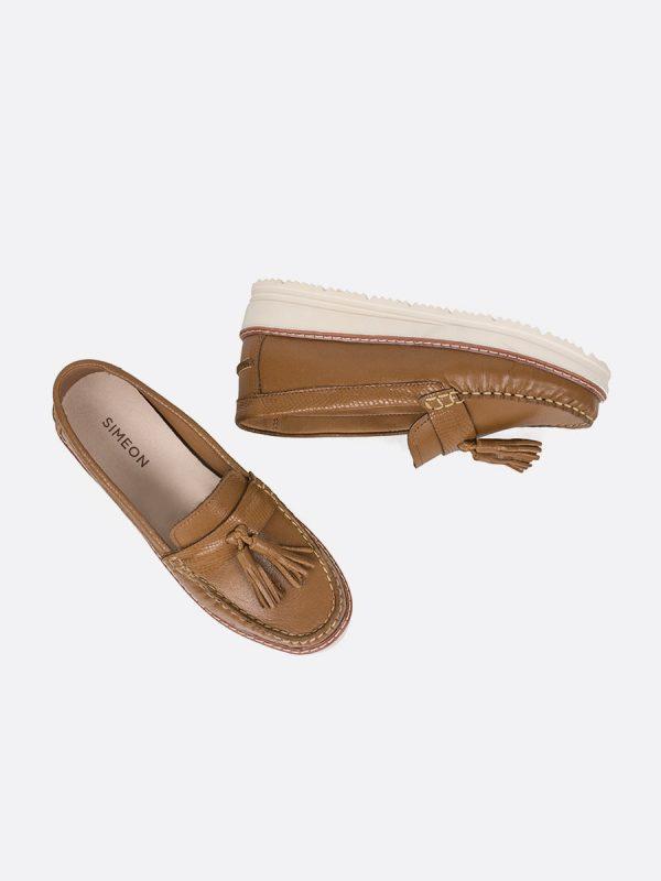 CROCO, Todos los zapatos, Mocasines, Cuero, MIE, Vista Galeria