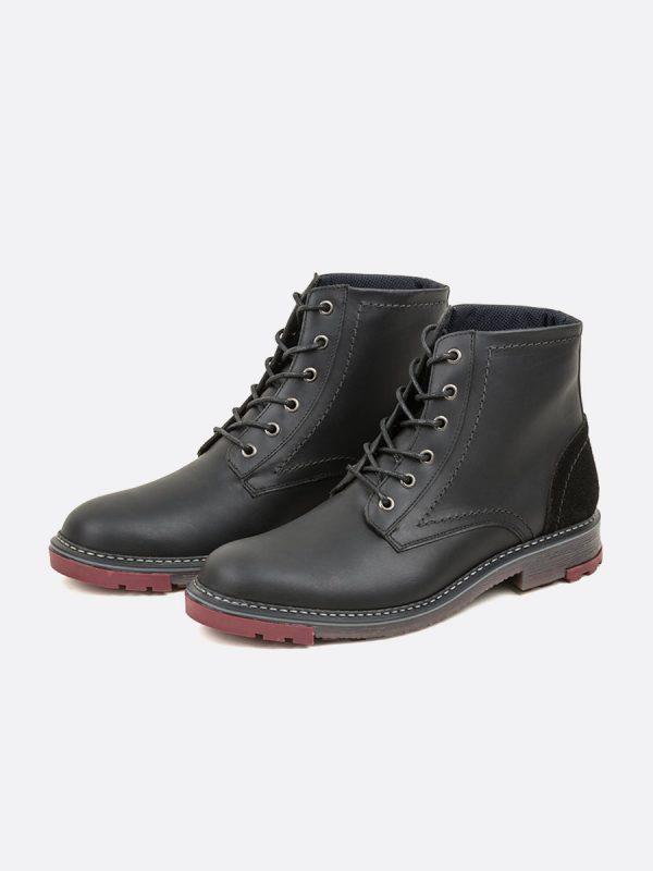 DUROTAN01,Todos los Zapatos, Botas Casuales, Cuero, NEG, Vista Galeria