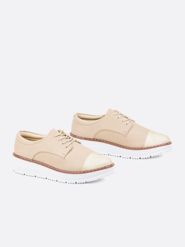 EMILIANA2020, Todos los zapatos, Zapatos de Cordón, Sintético, NUD, Vista Galeria