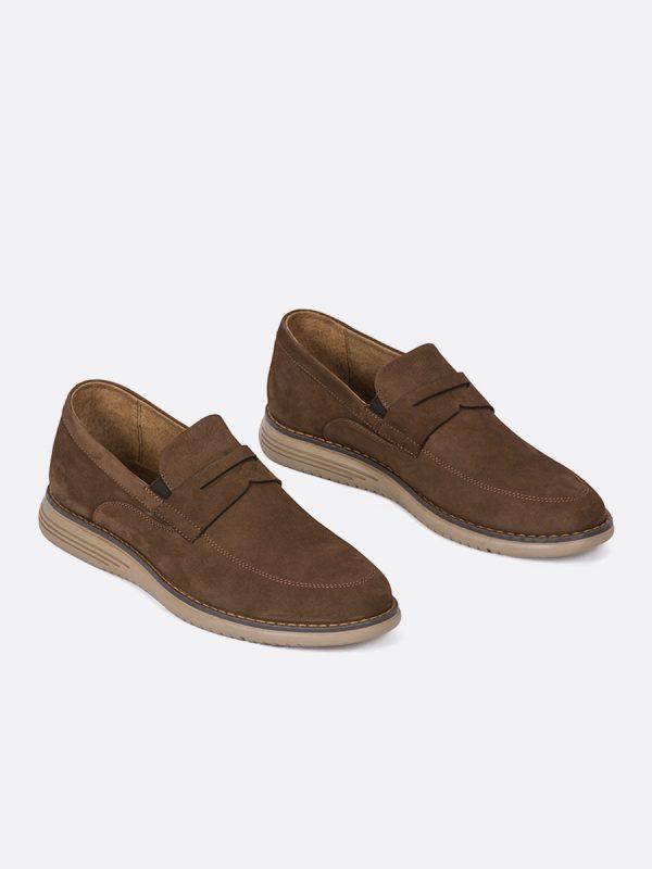 FENDY04, Todos los Zapatos, Mocasines, Cuero, CAF, Vista Galeria