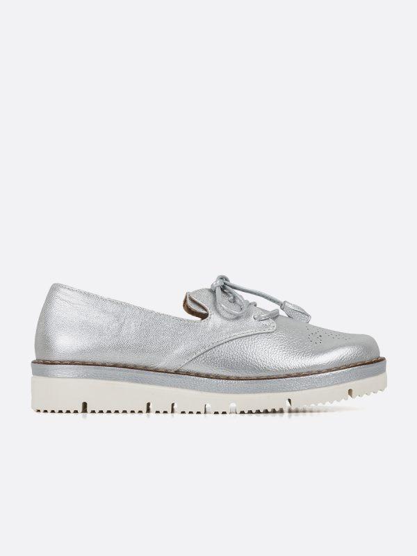 JEY3, Todos los zapatos, Zapatos de Cordón, Cuero, PLA, Vista Lateral