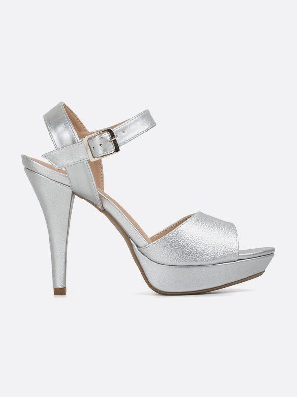 KYLE, Todos los zapatos, Plataformas, Sandalias Plataformas, Sintético, PLA, Vista Lateral