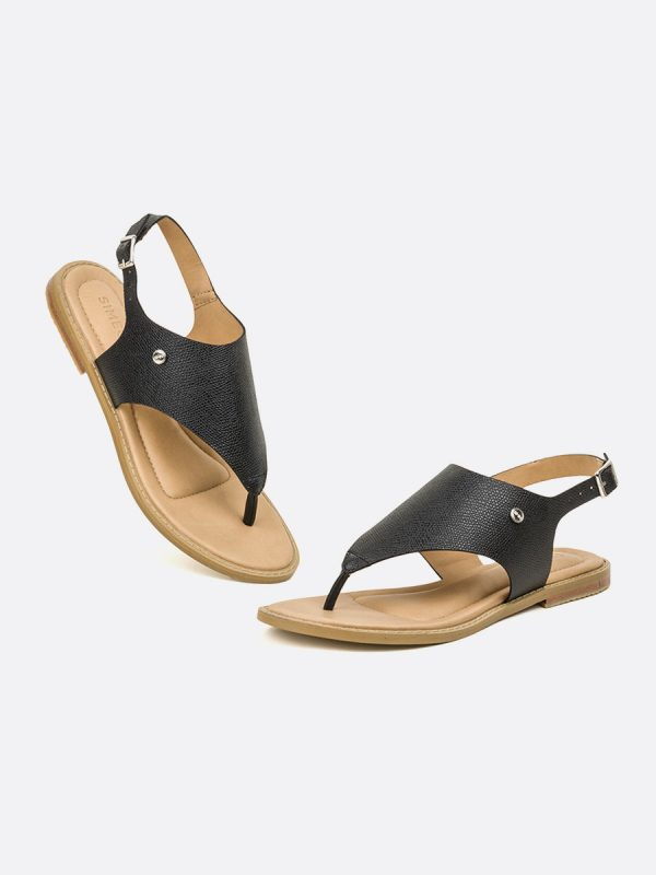 LISS2, Todos los zapatos, Sandalias Planas, Sintético, NEG, Vista Galeria