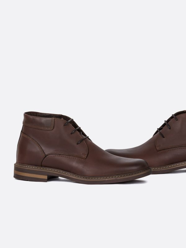 LUIGI03,Todos los Zapatos, Zapatos Casuales, Botas Casuales, Cuero, CAF, Vista Galeria