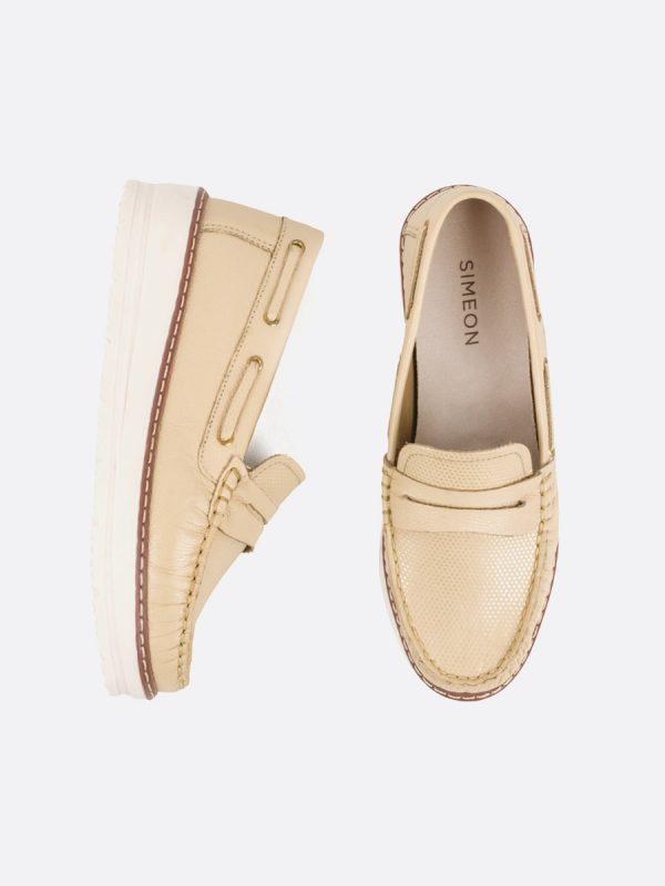 MALY, Todos los zapatos, Mocasines, Cuero, ARE, Vista Galeria
