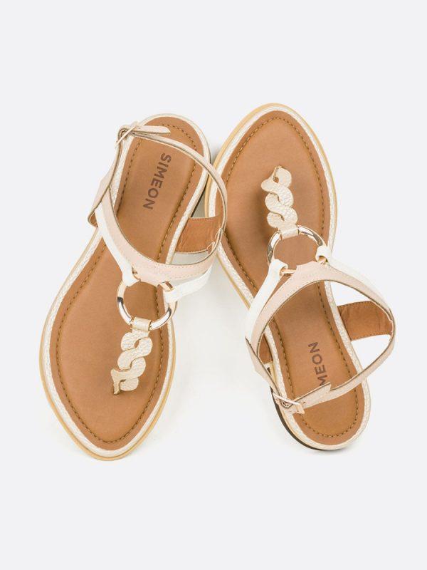 NACAR2, Todos los zapatos, Sandalias Planas, Sintético, CHA, Vista Galeria