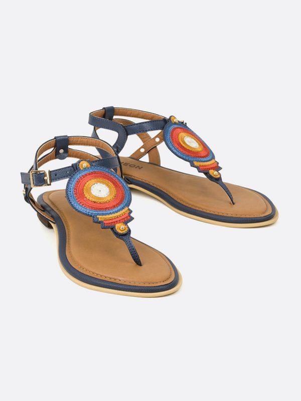 NICOL, Todos los zapatos, Sandalias Planas, Sintético, MOS, Vista Galeria