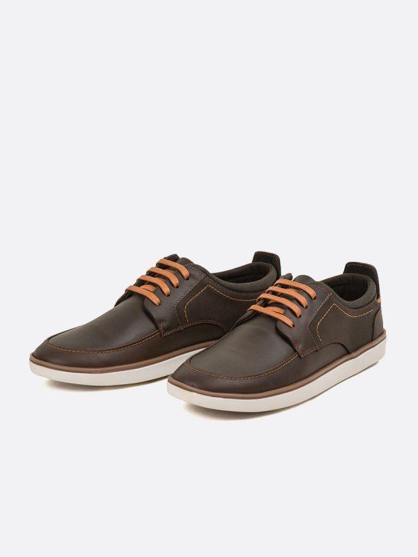 SAMUEL5, Todos los Zapatos, Zapatos Casuales, Cuero, CAF, Vista Galeria