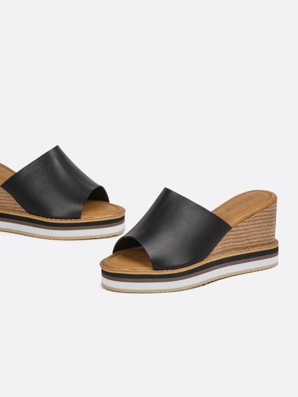 TONY2, Todos los zapatos, Plataformas, Sandalias Casuales, Sintético, NEG, Vista Galeria