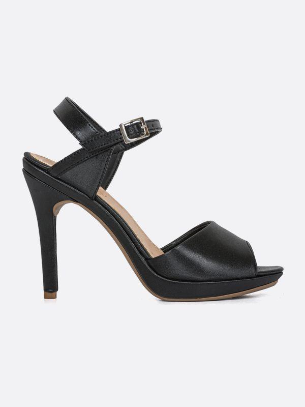 VERA, Todos los zapatos, Plataformas, Sandalias Plataformas, Sintético, NEG, Vista Lateral