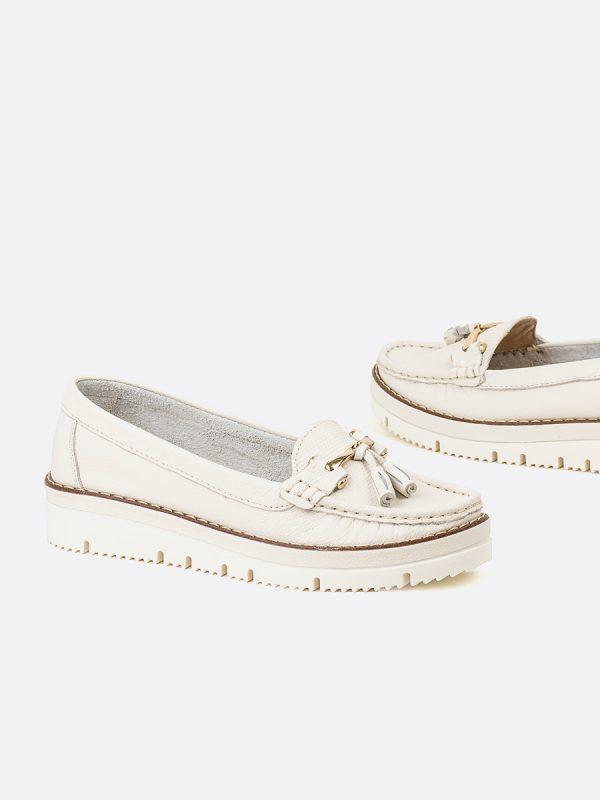 ASLEN2, Todos los zapatos, Mocasines Casuales, Cuero, TAL, Vista Galeria