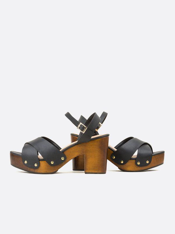 KIMI, Todos los zapatos, Plataformas, Sandalias Plataformas, Sintético, NEG, Vista Galeria