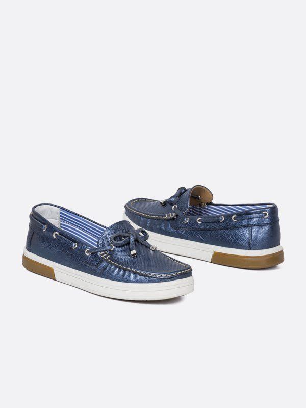 MALIBU20, Todos los zapatos, Mocasines, Cuero, AZU, Vista Galeria