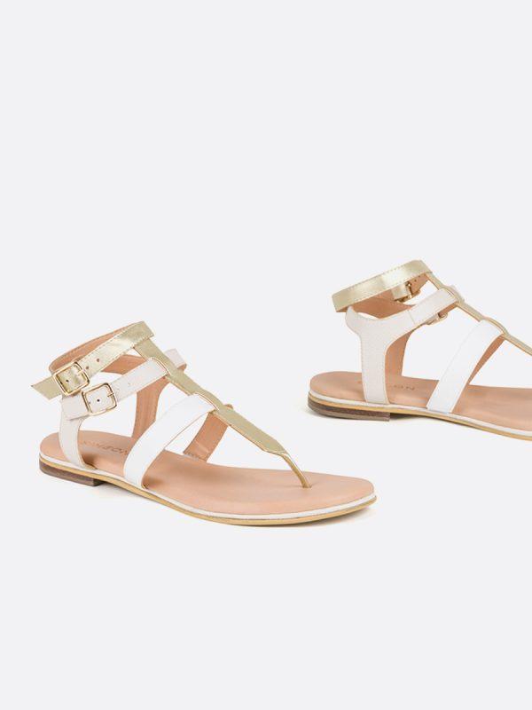 MISURI, Todos los zapatos, Sandalias Planas, Sintético, CHA, Vista Galeria