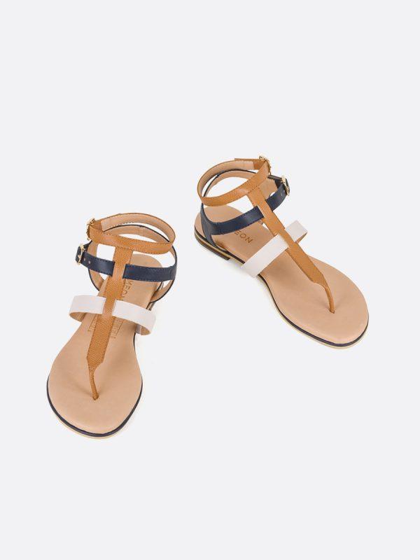 MISURI, Todos los zapatos, Sandalias Planas, Sintético, MIE, Vista Galeria