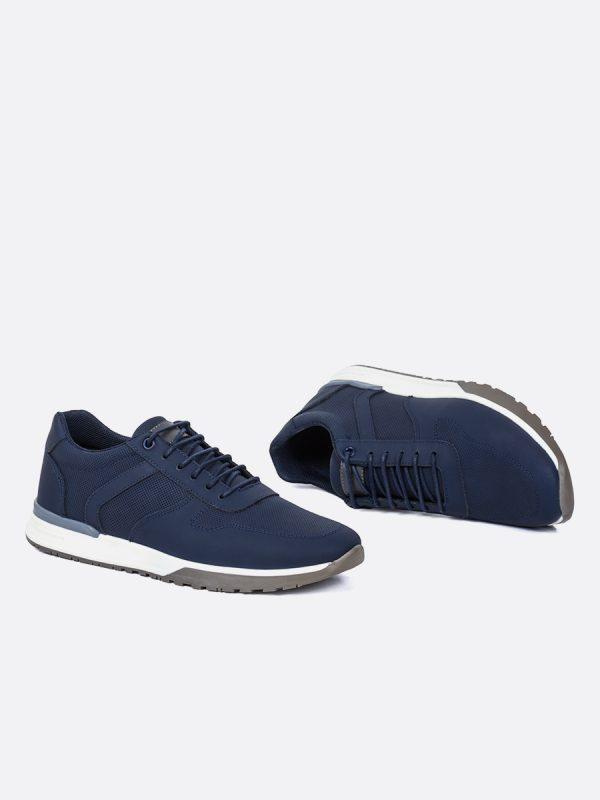RIIGO05, Todos los zapatos, Deportivos, Tenis, Cuero, AZU, Vista Galeria