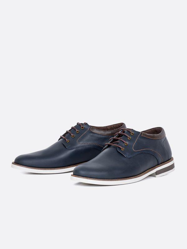 JASPE02, Todos los zapatos, Casuales, Cuero, AZU, Vista Galeria