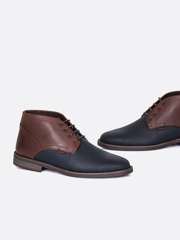 JASPE05, Todos los zapatos, Botas Casuales, Cuero, CAF, Vista Galeria