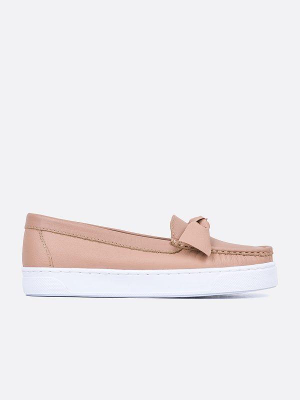 PALMER3, Todos los zapatos, Mocasines Casuales, Cuero, ROS, Vista Lateral
