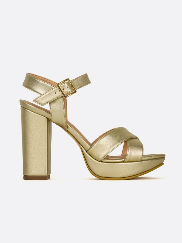 TAW, Todos los zapatos, Sandalias Plataforma, Sintético, CHA, Vista Lateral