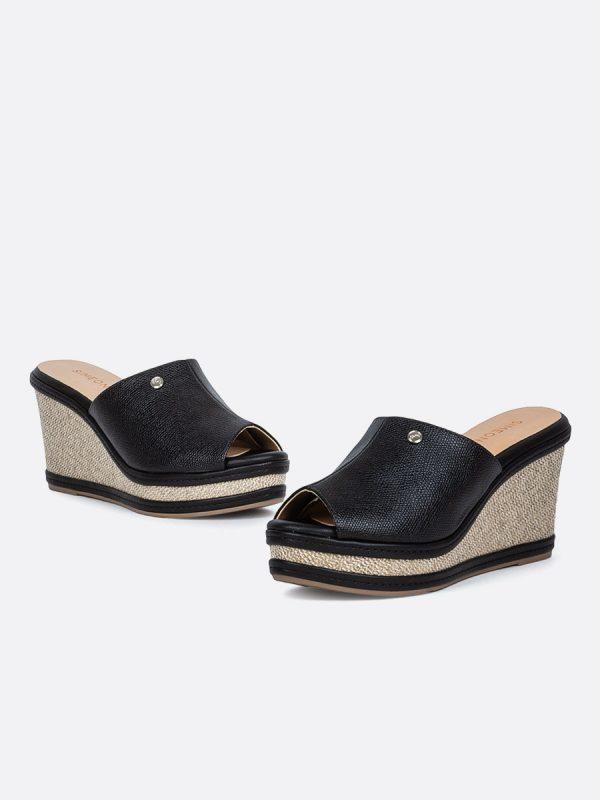 CORY20, Todos los zapatos, Plataformas, Sandalias Plataformas, Sintético, NEG, Vista Galería