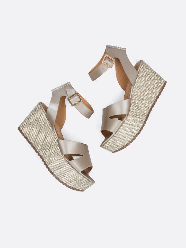 MILK2, Todos los zapatos, Plataformas, Sandalias Plataformas, Sintético, CHA, Vista Galeria
