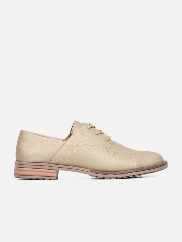 CLOVER, Todos los zapatos, zapatos de cordón, sintético, CHA, Vista Lateral