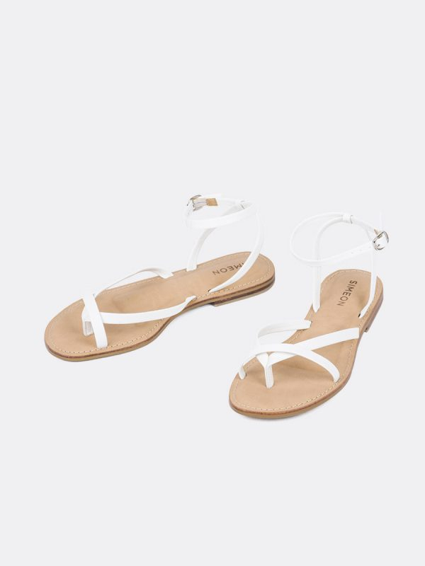 DENVER2, Todos los Zapatos, Sandalias, Sandalias Planas, Sintético, BLA, Vista Galeria
