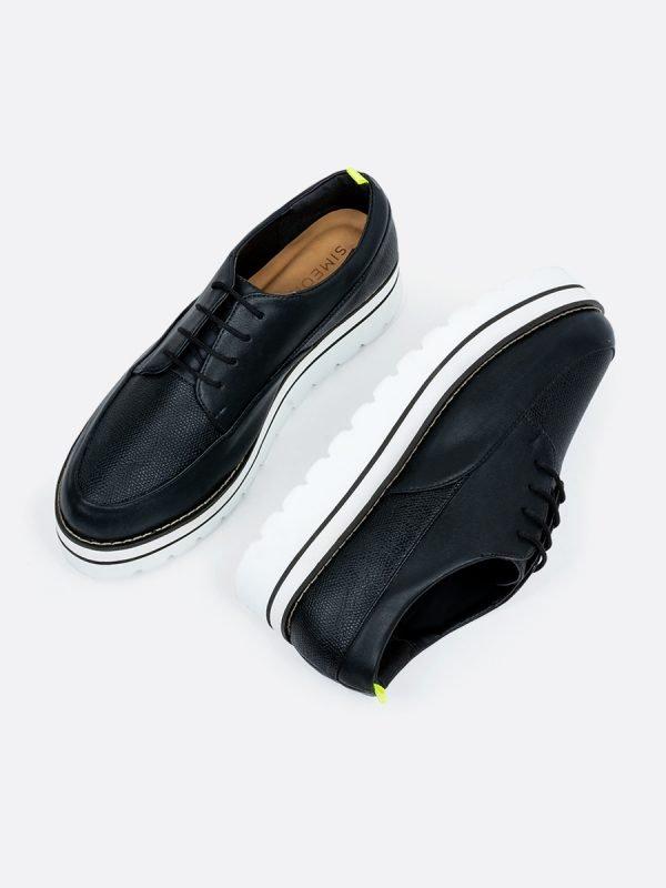 LITE-NEG, Todos los zapatos, Zapatos de Cordón, Sintético, Vista galeria