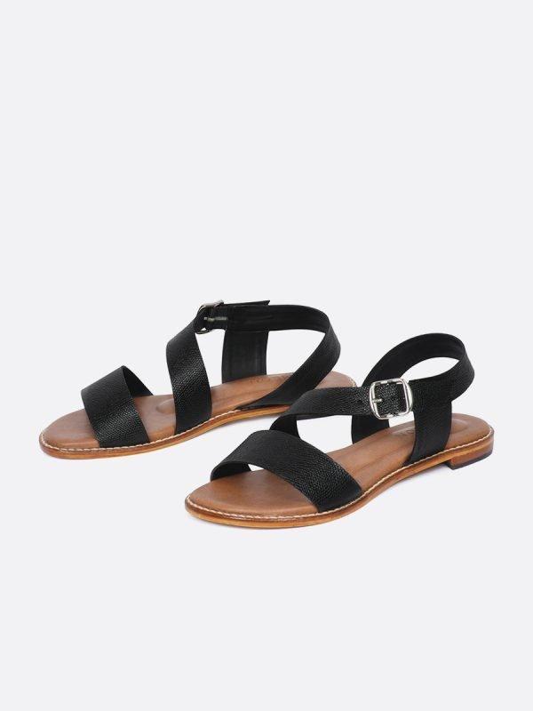 MISS20-NEG, Todos los zapatos, Sandalias Planas, GALERIA