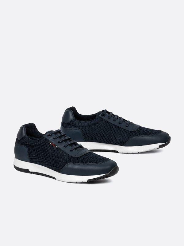 BAJIR05-AZU, Todos los zapatos, tenis, Cuero, Vista GALERIA