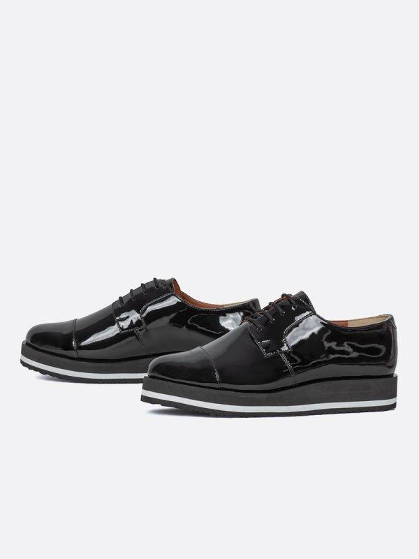 CARMINA2-NEG, Todos los zapatos, Zapatos de Cordón, Sintético, Vista GALERIA