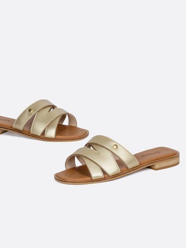 TALED-CHA, Todos los zapatos, Sandalias Planas, vista galeria