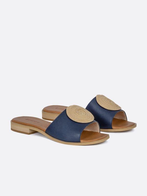 TALED2-AZU, Todos los zapatos, Sandalias Planas, vista galeria