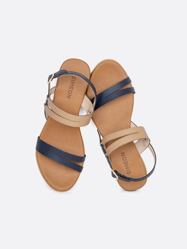 TALED3-AZU, Todos los zapatos, Sandalias Planas, vista galeria