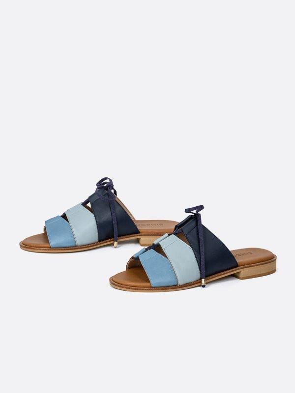ALIDA21-CEL, Todos los zapatos, Sandalias Planas, vista galeria