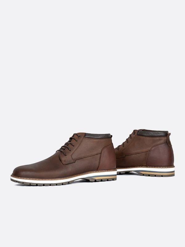 BERLIN04-CAF, Todos los zapatos, Botas , Casuales, Cuero, Vista galeria