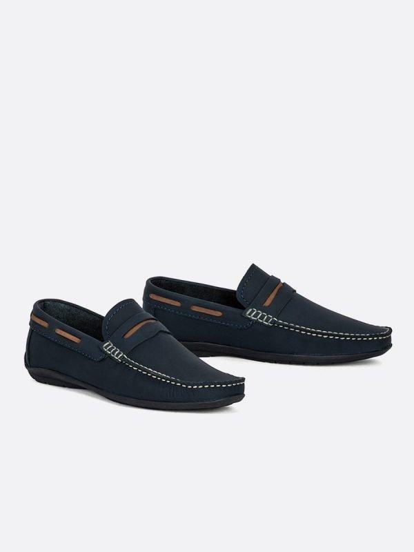 CLAUDIO5-AZU, Todos los Zapatos, Mocasines & Apaches, Tenis, Vista GALERIA