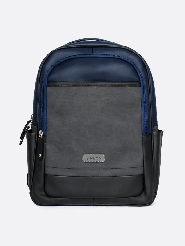 T735MS-AZU, Todos los Accesorios, Morrales, Backpack, Sintetico, Vista FRONTAL