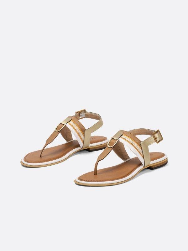 ABER4-NUD, Todos los zapatos, Sandalias Planas, vista galeria