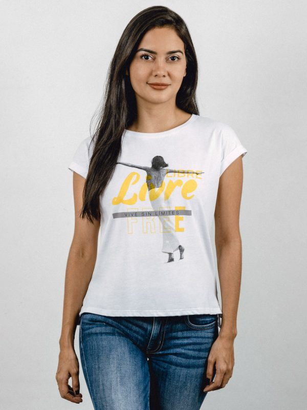 T03M-LIBRE, Todos los Accesorios, ropa, camisetas, Vista GALERIA
