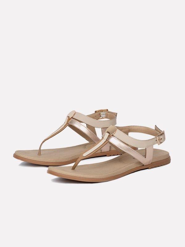 ABER2-NUD, Todos los zapatos, Sandalias Planas, vista Galeria