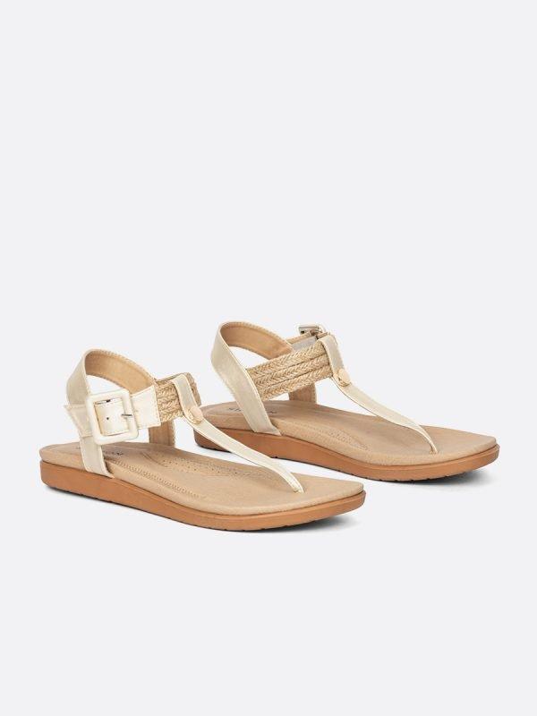 ABER3-CHA, Todos los zapatos, Sandalias Planas, vista Galeria