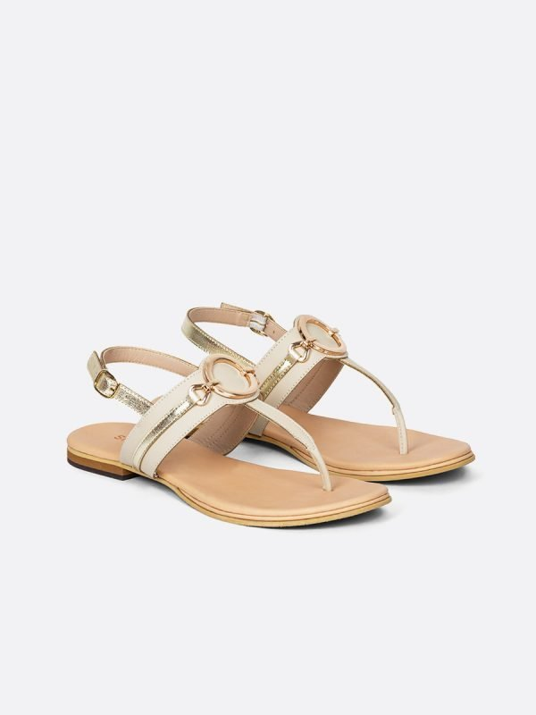 KEIN4-TAL, Todos los zapatos, Sandalias Planas, vista Galeria
