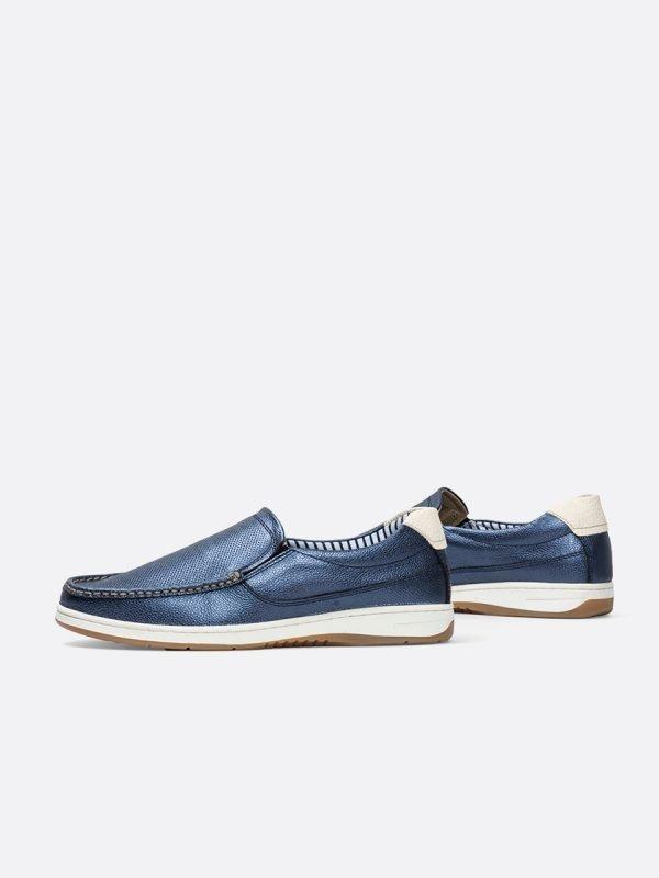VICTORY01-AZU, Todos los zapatos, Mocasines, Cuero, Vista galeria