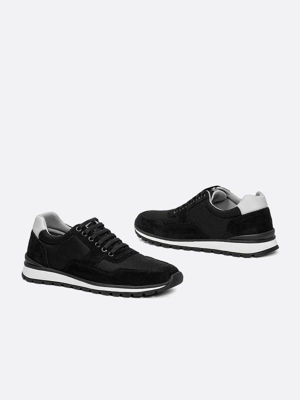 ZANS04-NEG, Todos los zapatos, tenis, Cuero, Vista galeria