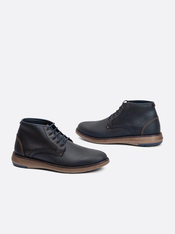ZARECH06-AZU, Todos los zapatos, Botas , Casuales, Cuero, Vista galeria